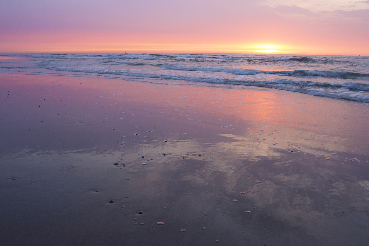 North Sea, Vlieland, The Netherlands